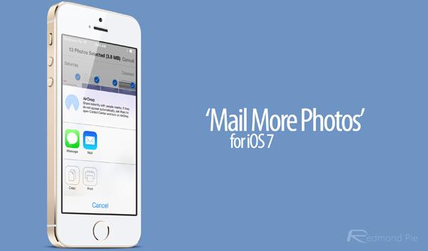 Mail more Photos iOS 7