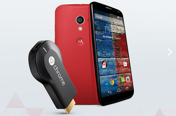 Moto X Chromecast