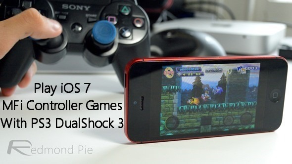 Play iOS 7 MFi Controller Games Using PS3 DualShock 3 Controller