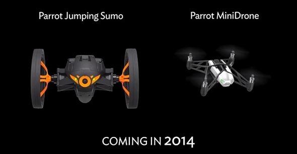 Parrot minidrone sumo