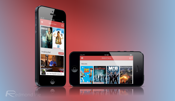Play Movies TV header iPhone