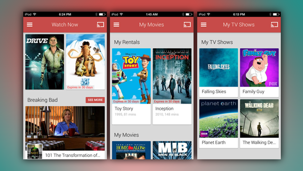 Play Movies TV iOS