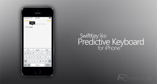 PredictiveKeyboard header