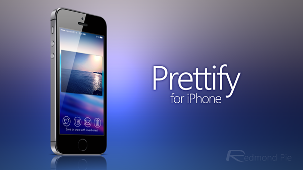 Prettify for iPhone main