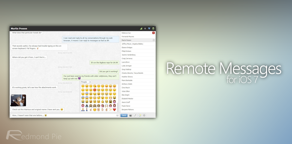 Remote Messages header