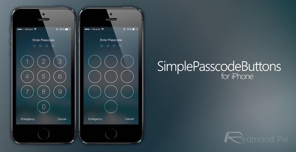 SimplePasscodeButtons