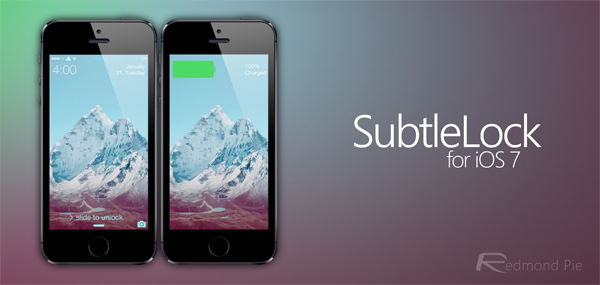 SubtleLock iOS 7 header