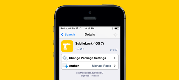 SubtleLock iOS 7 package
