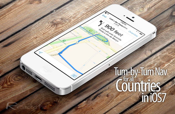 Turn by Turn nav iOS 7