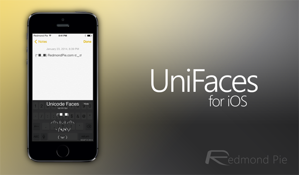 UniFaces screenshot