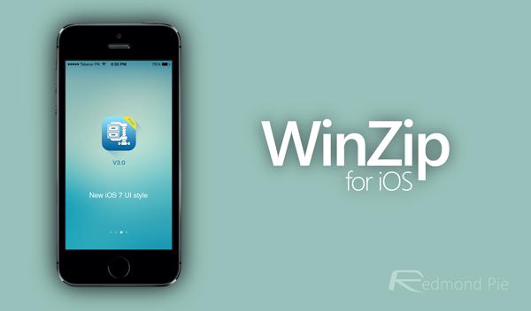 WinZip for iOS 7