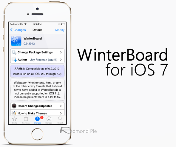 WinterBoad for iOS 7