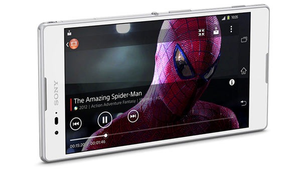Xperia T2 front