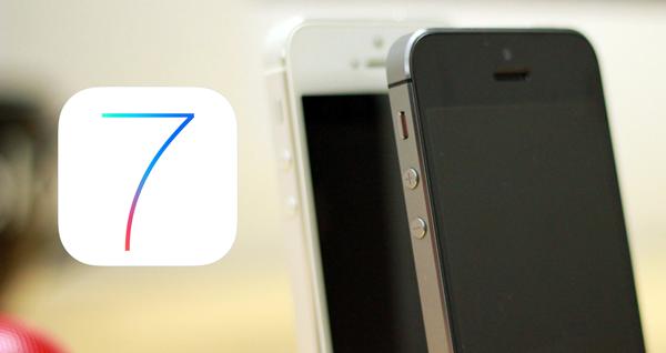 iOS 7 iPhone 5s