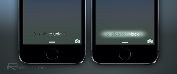 iOS 71 beta 4 slide to unlock