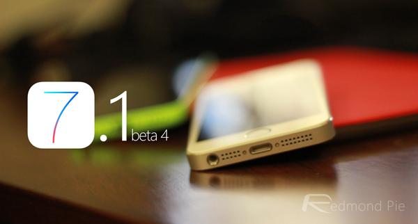 iOS 71 beta 4