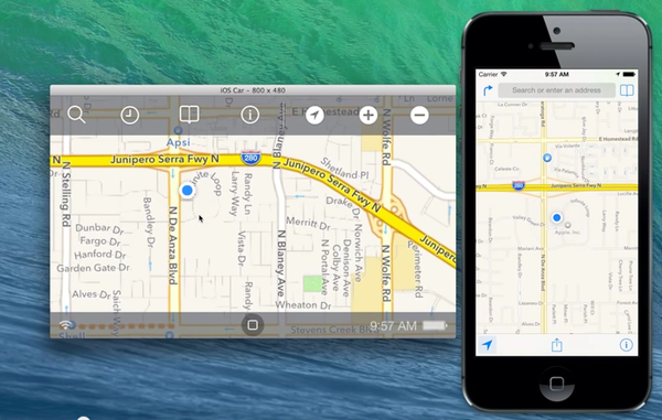 iOS in the Car demo hidden