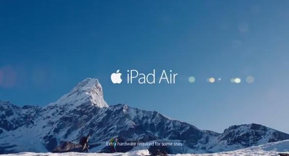 iPadAir ad