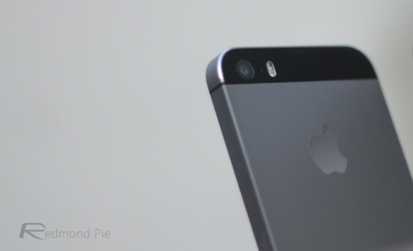 iPhone 5s back space gray