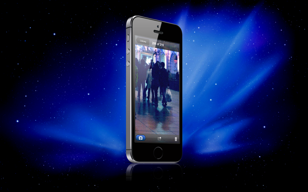 iPhone night vision