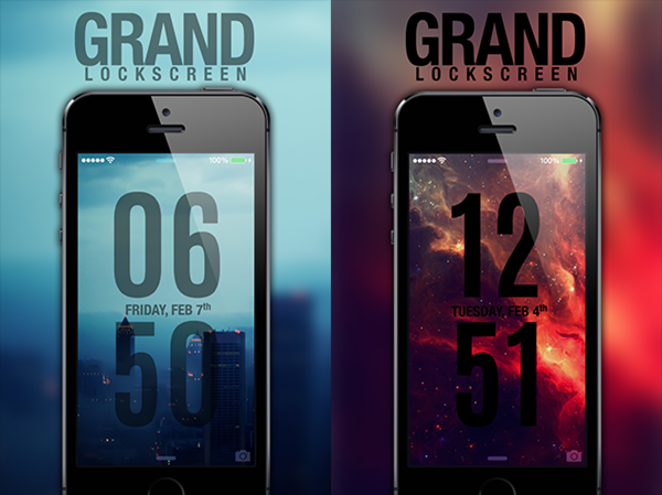 Grand Ls The Best Lock Screen Theme For Ios 7 Video