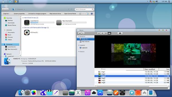 De Windows XP a OS X Lion: transformación completa
