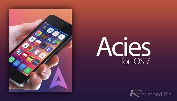 Acies header iOS 7