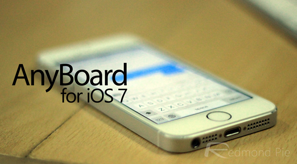 AnyBoard iOS 7 header