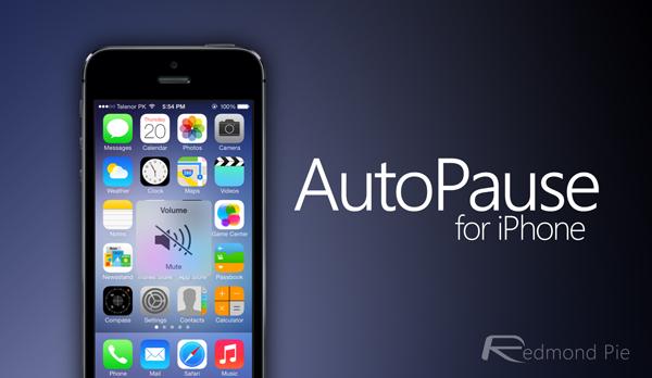 AutoPause header