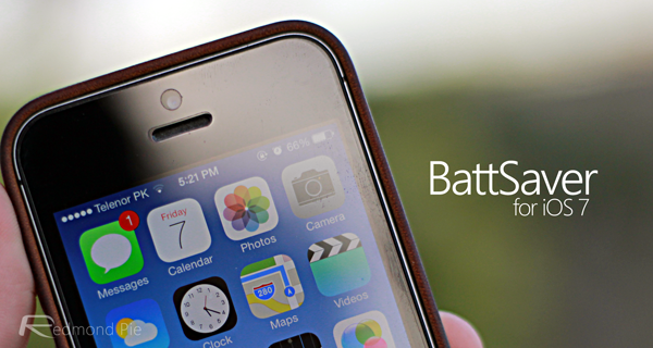BattSaver for iOS 7 header