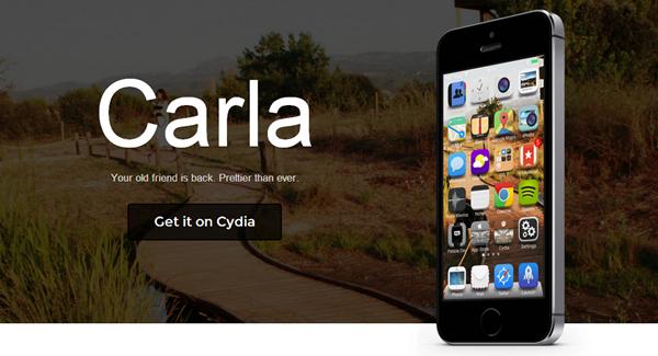 Carla header iOS 7