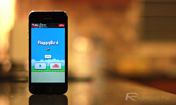 Flappy Bird header iPhone 5s
