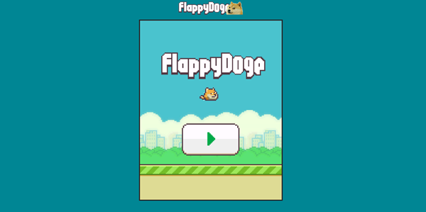 Flappy Doge header