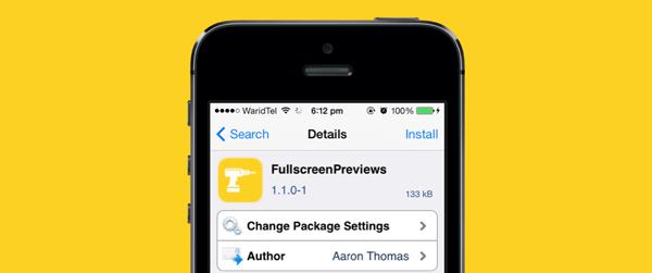 FullscreenPreivews package