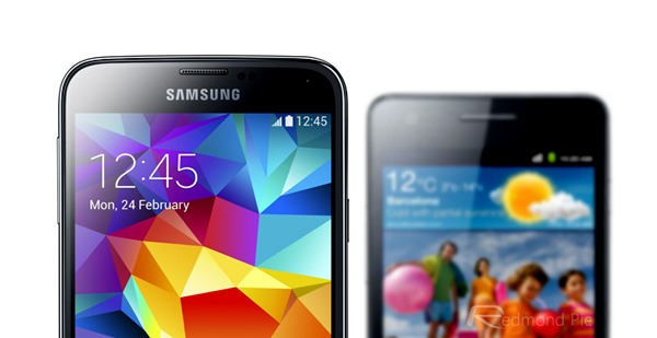 GS5 size comparison header
