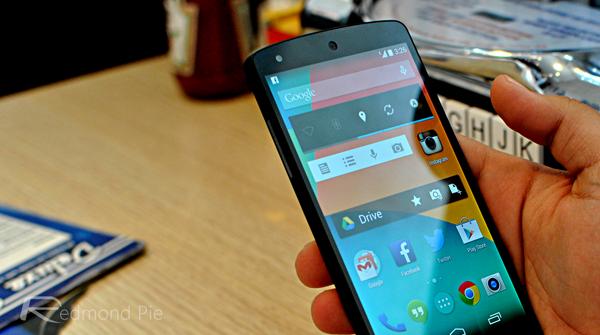 Google Now Launcher Nexus 5