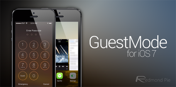 GuestMode for iOS 7 header