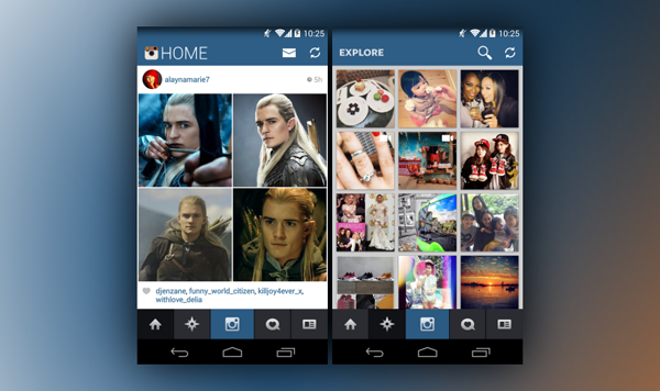 How To Get The Flat UI iOS 7 Instagram App On Android