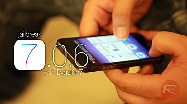 Jailbreak iOS 706 Evasi0n7