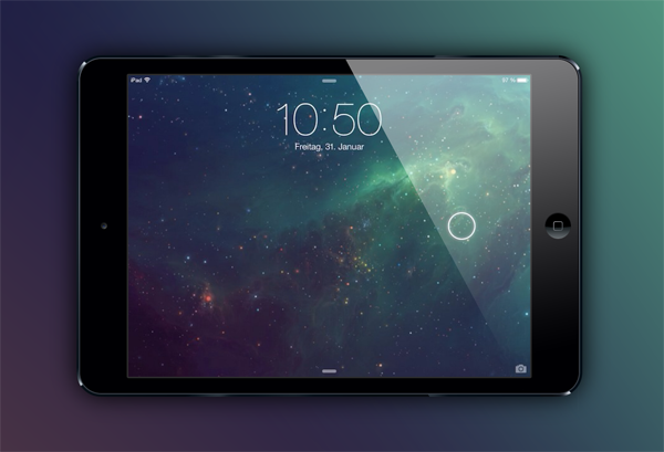 JellyLock7 iPad
