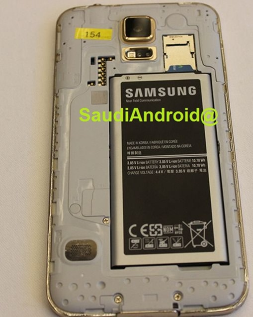 Leak Galaxy S5