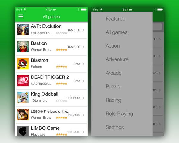 MFi app screenshots