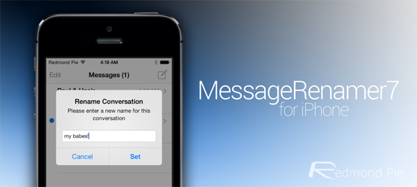 MessageRenamer7 iOS