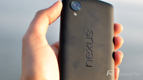 Nexus 5 rear shot
