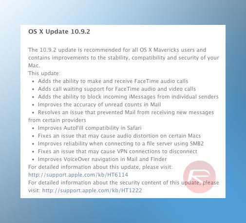 OS X 1092 changelog