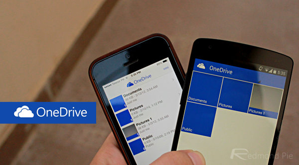 OneDrive iOS Android header