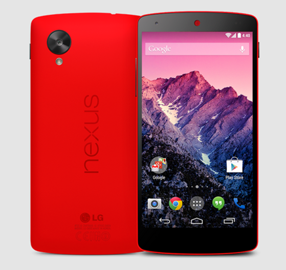 Red Nexus 5 main