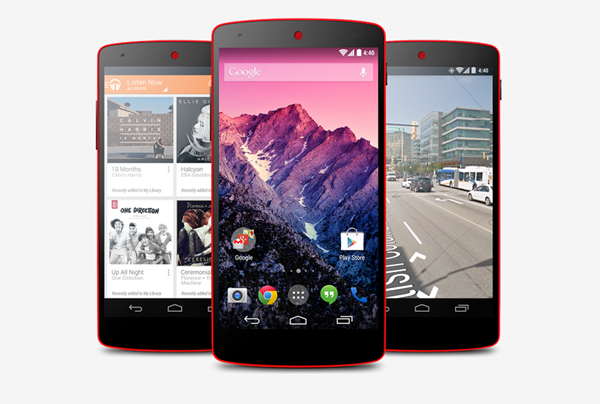 Red Nexus 5 trio