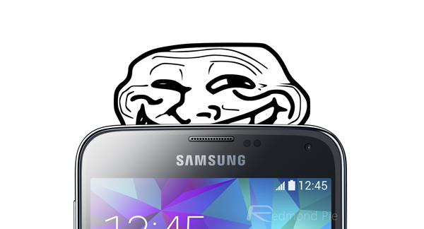 Samsung Galaxy S5 social