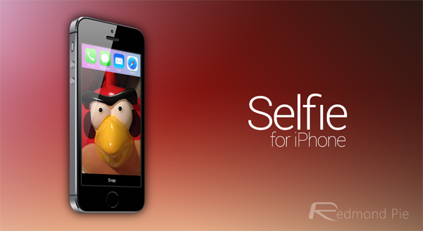 Selfie header iPhone